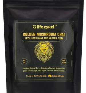 Golden Lion's Mane Mushroom Chai with Kakadu Plum 250g